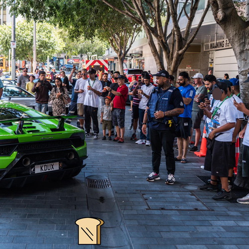 VIP experience for lucky kids + Supercars