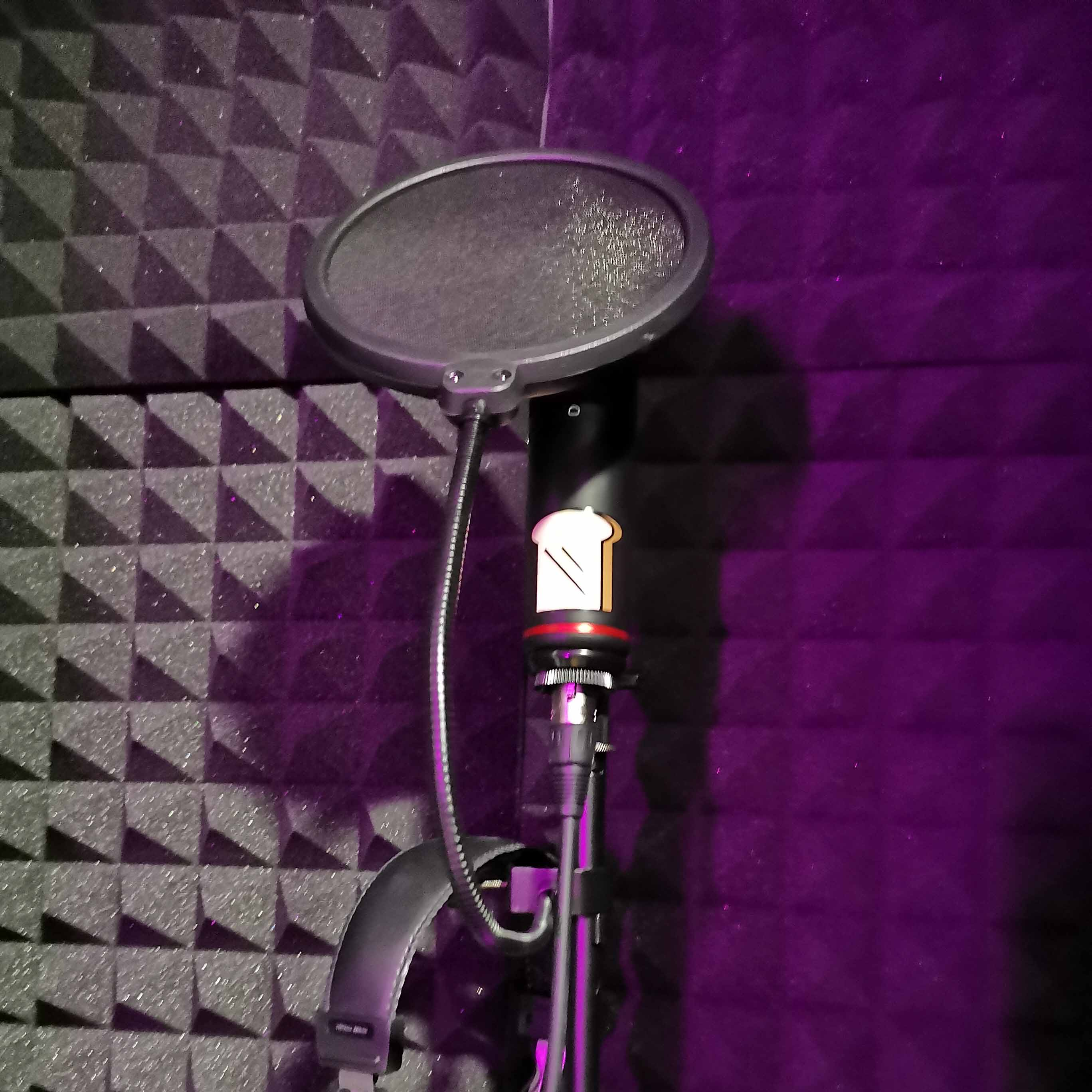 Dedicated recording booth